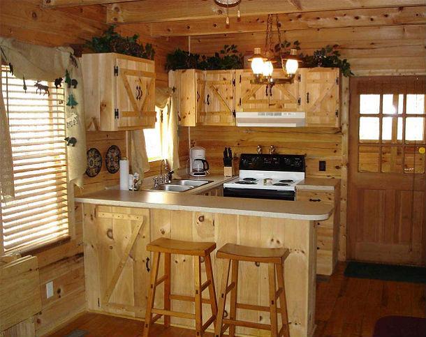 cozinha pequena rustica