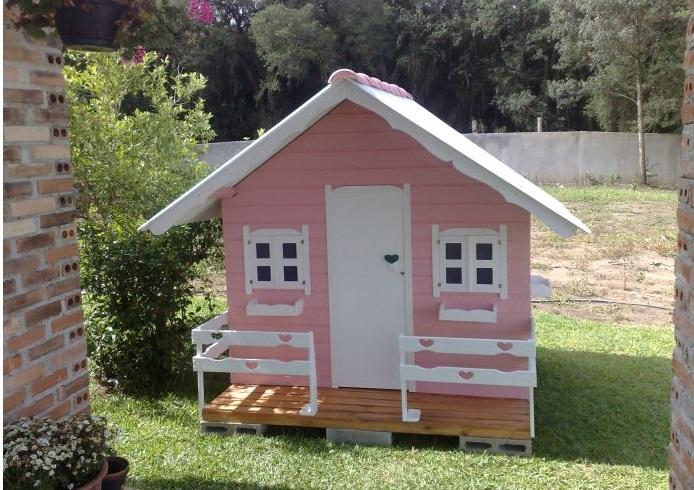 Casas de madeira para meninas