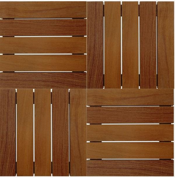 Deck Modular Isabela 50cm x 50cm (Placa) Cumaru