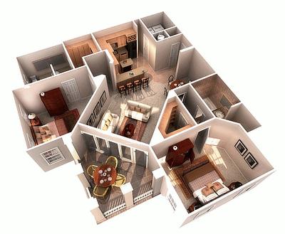 10 modelos de casas em 3D