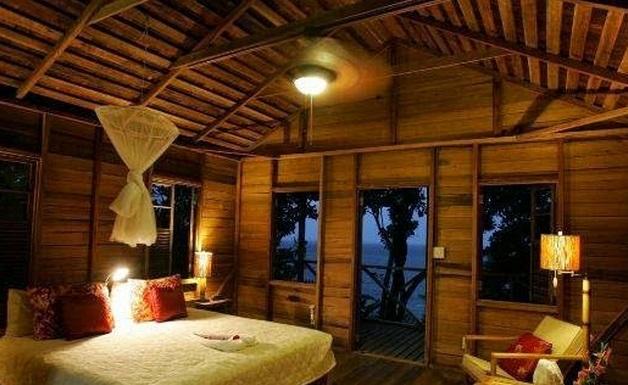 Casa de campo quarto tradicional