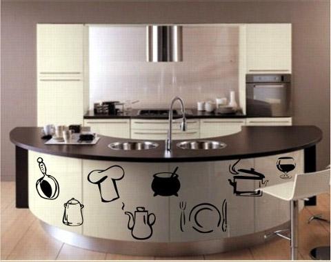 Modelos de Papel de Parede para Cozinha