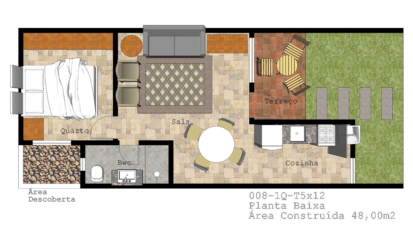 modelos de plantas de casas com edícula #9F622C 1600 945