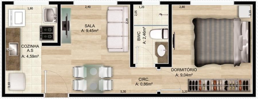 5 modelos de plantas de casas com edícula