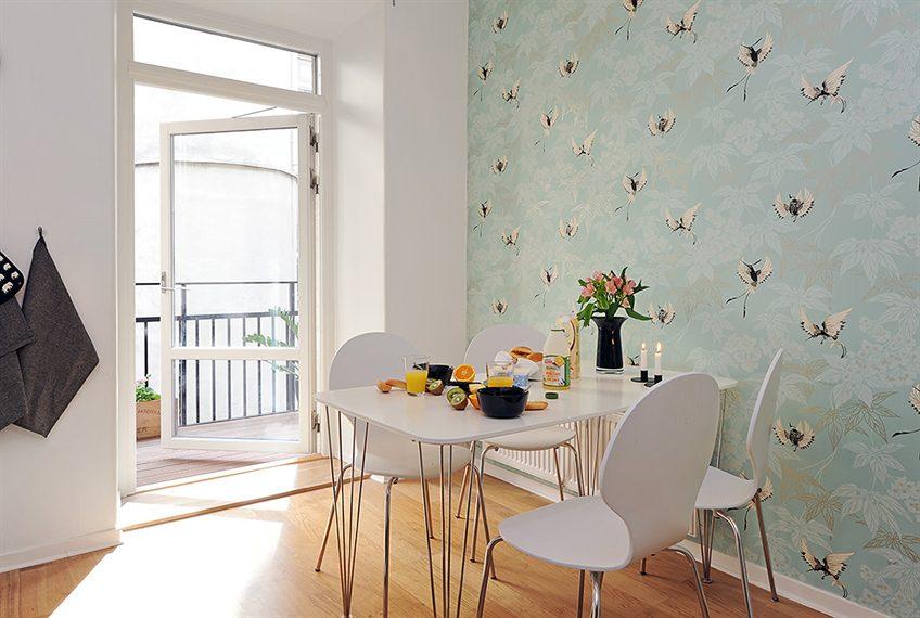 Modelos de papel de parede para cozinha 5 tipos for Papel pintado para salon blanco