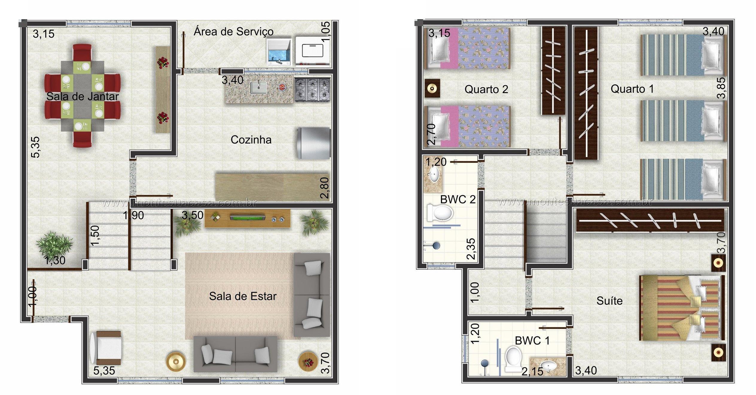 Apartamento Garden Terreo Pequeno
