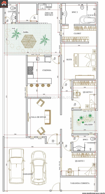 5 plantas de casas at 120m2 for Casa de dos plantas wifi