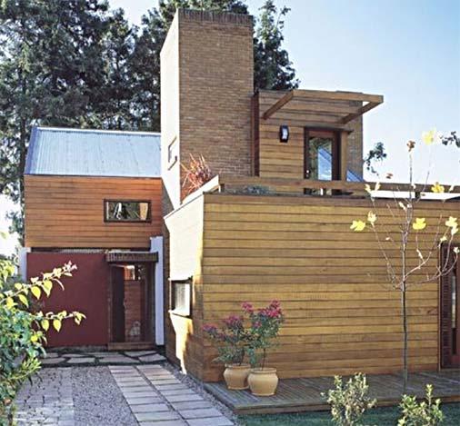Fachadas de madeira para casas