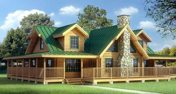 7 Fachadas De Casas Americanas