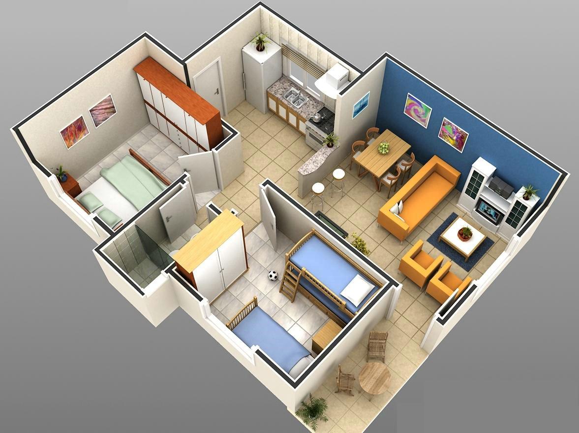 Plantas de casas modelos planta baixa projetos for Casa moderna 6x6