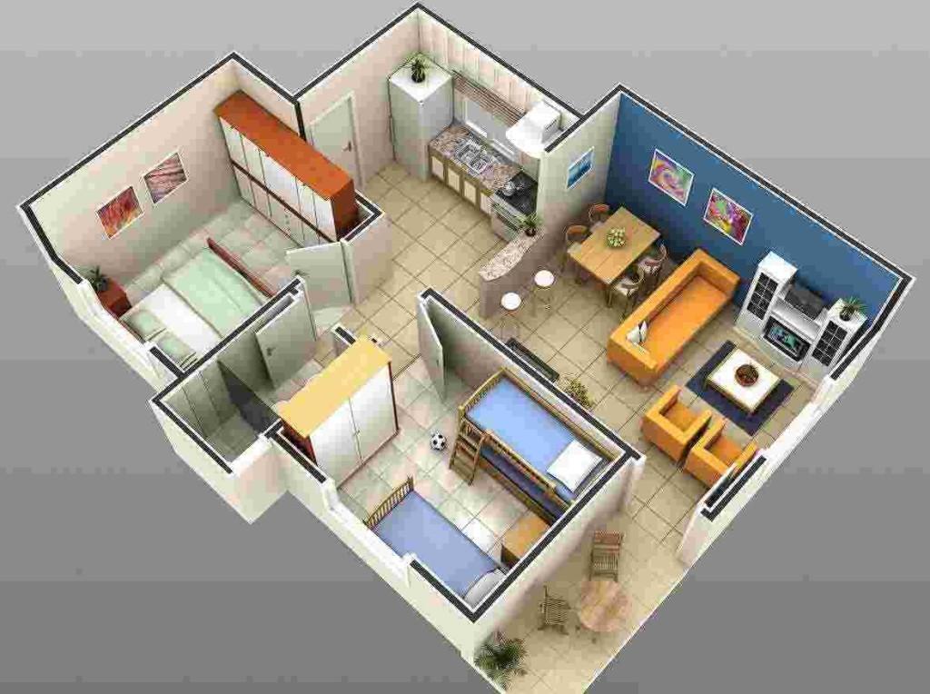 Casa para sítio 1