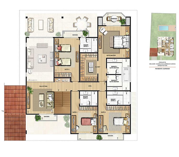 Casa para sítio 10