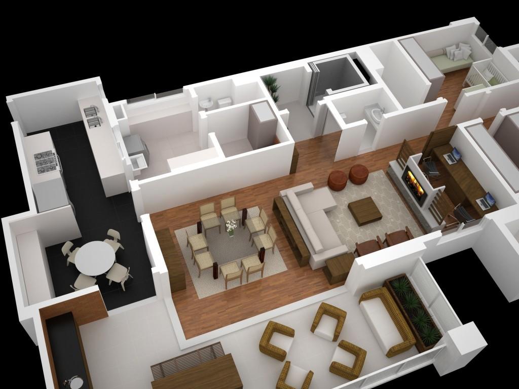 Casa para sítio 13