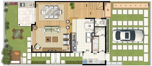 Casa para sítio 7