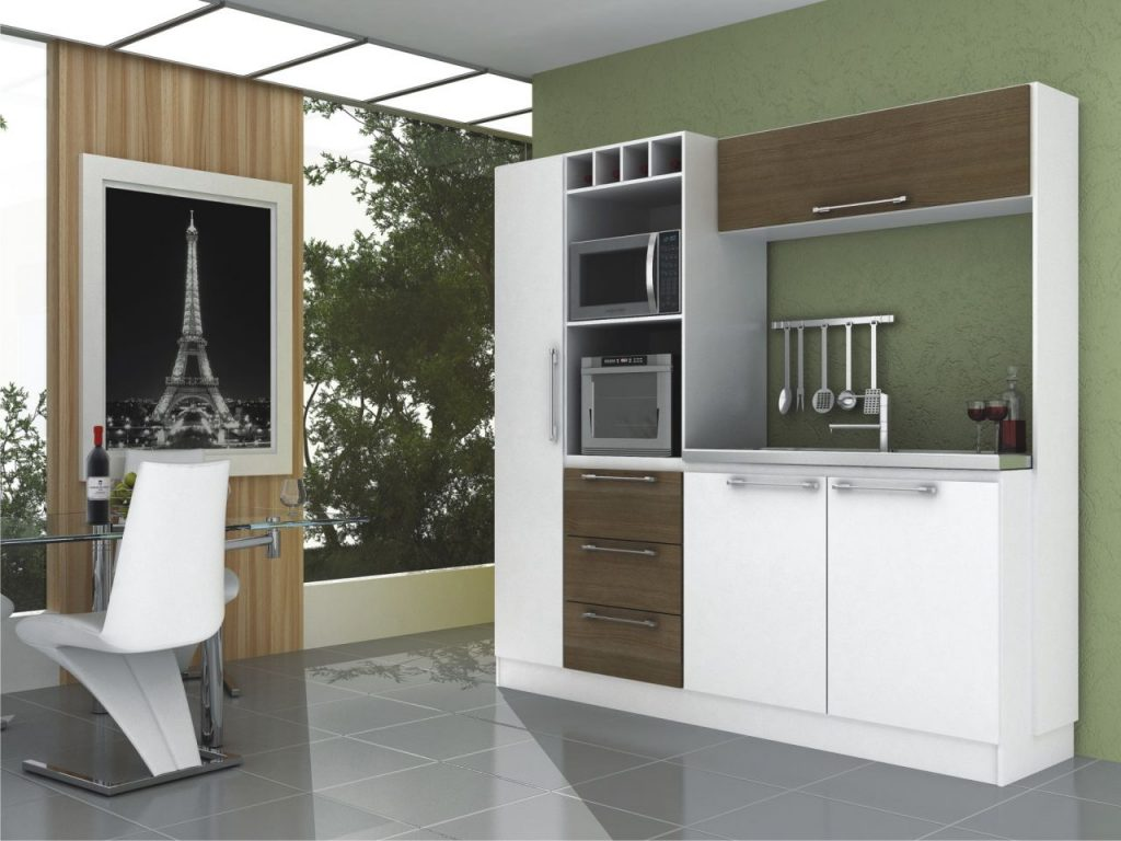 balcão de cozinha americana pequena #5B4E3C 1024 768