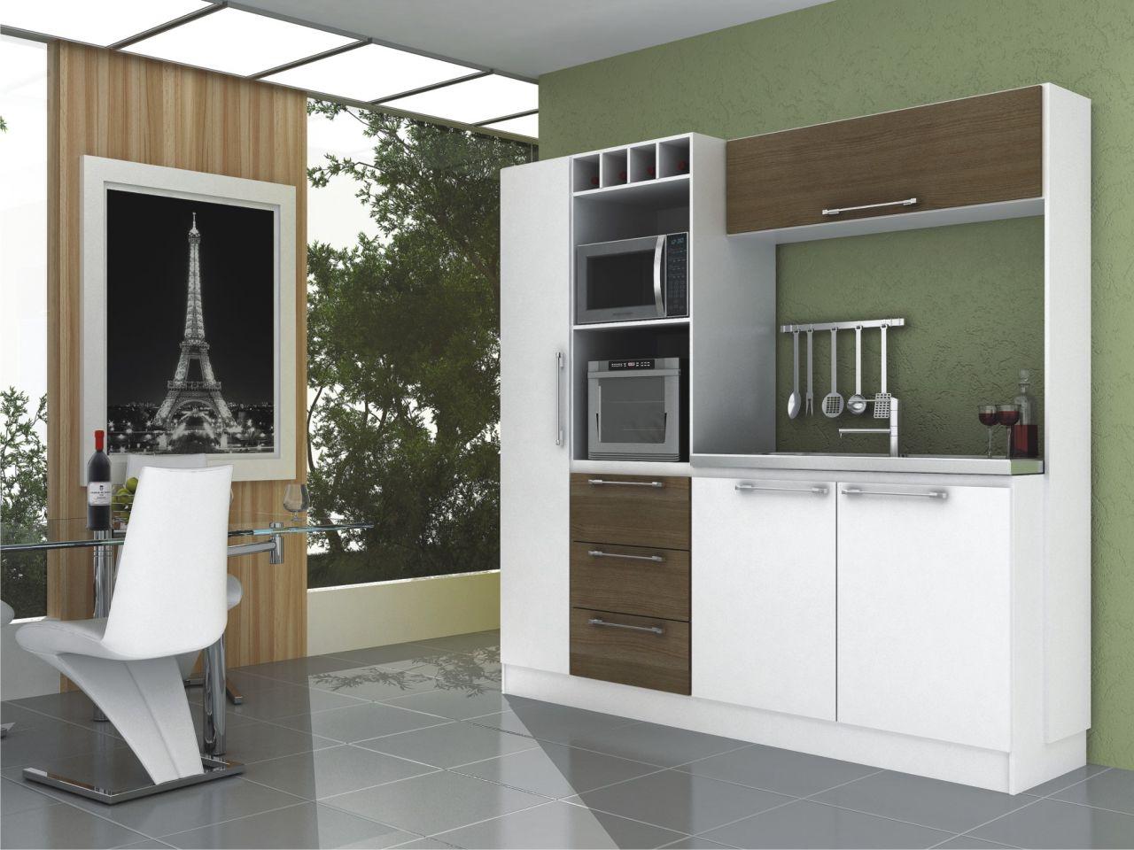15 tipos de modelos de cozinhas pequenas #5B4E3C 1280 960