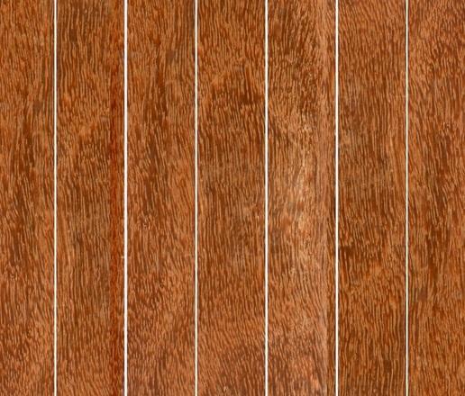 Deck de Madeira em Réguas Isabela 10cm x 2m até 4m (m²) Cumaru Vermelho
