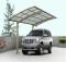 Garagem em policarbonato para um carro