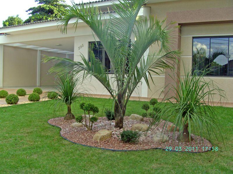 Modelos de jardins residenciais para frente de casa for O jardins d eglantine