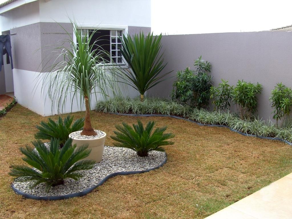 ideias para jardins medios : Modelos de Jardins Residenciais para frente de casa