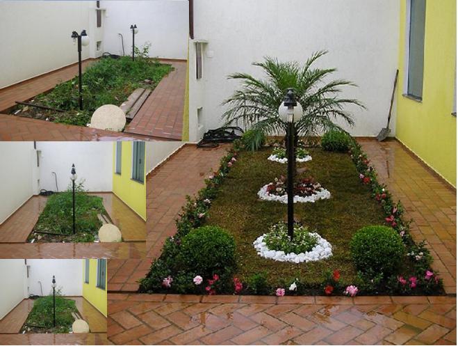 Jardim residencial 15