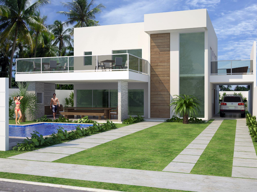 Jardim residencial 22