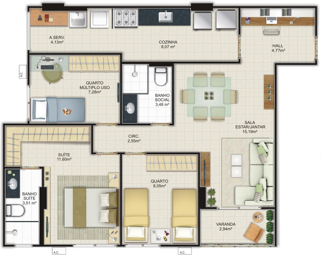Logo abaixo temos mais alguns modelos de plantas de casas baixas para  #886B43 1310 1043