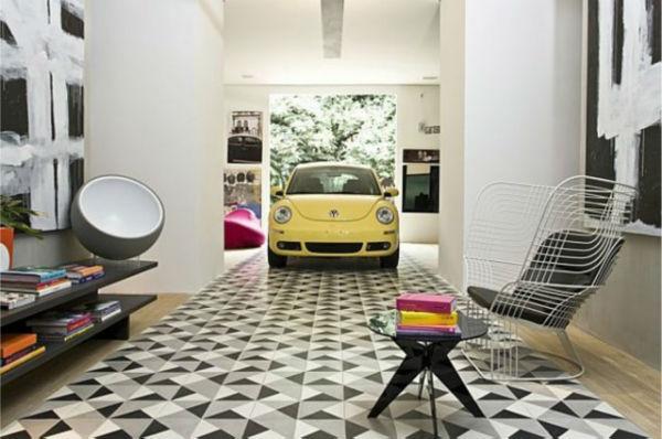 piso de garagem com revestimento 1