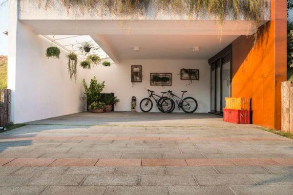 piso de garagem em concreto