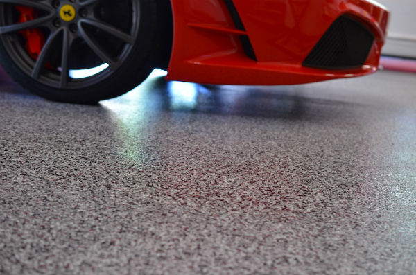 piso de garagem moderno