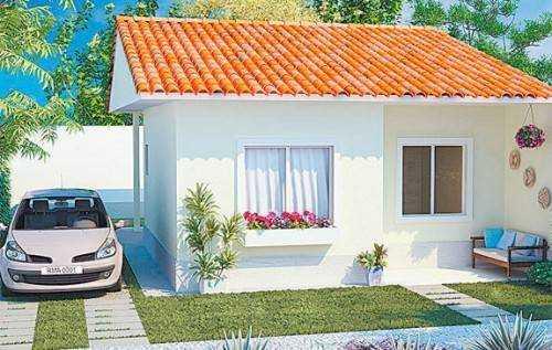 10 modelos de fachadas de casas baratas for Modelos de casas minimalistas pequenas