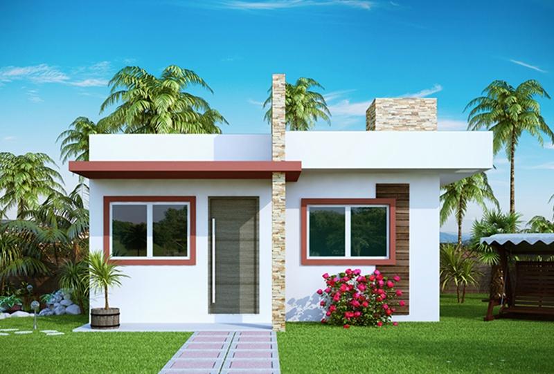 10 modelos de fachadas de casas baratas for Modelos de fachadas para casas de 2 pisos