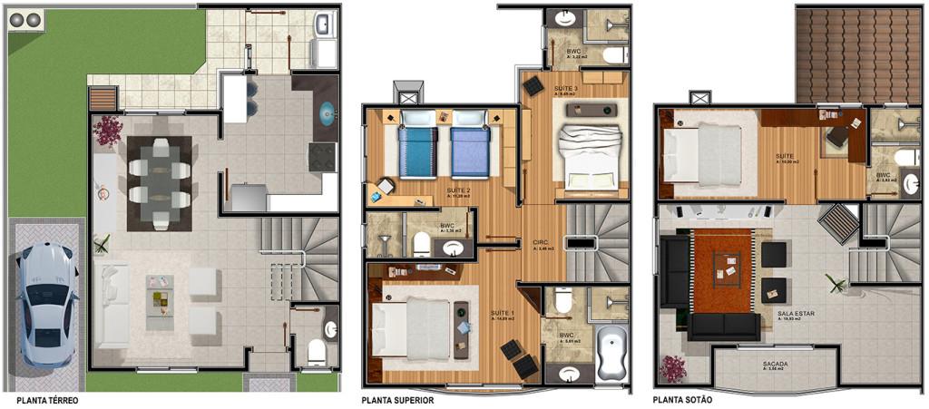 Casa Triplex 2