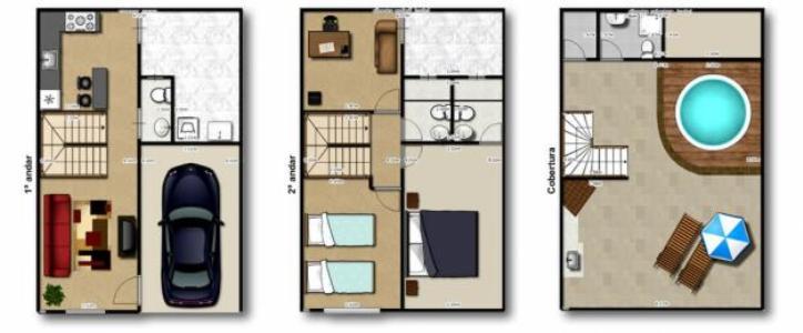 Casa Triplex 3