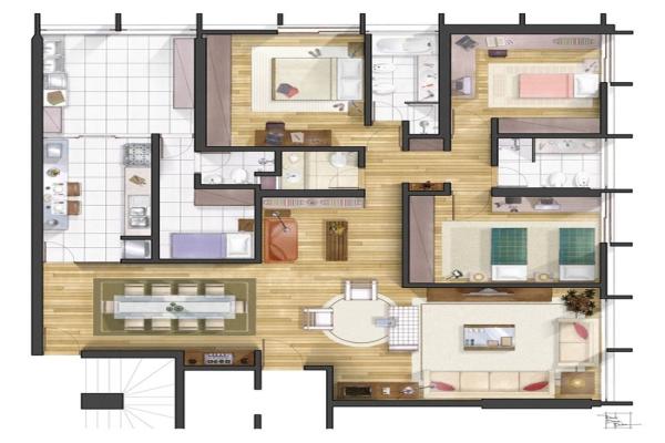 Casa contemporânea 4
