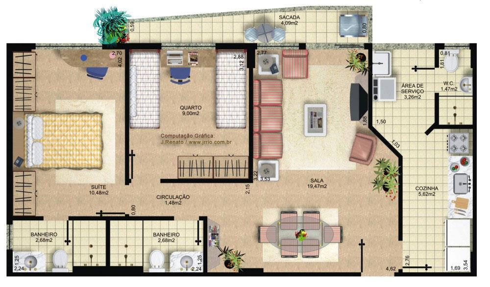 Plantas de casas contempor neas 7 modelos for Piani casa contemporanea casa