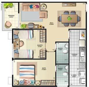 Casa pequena 8