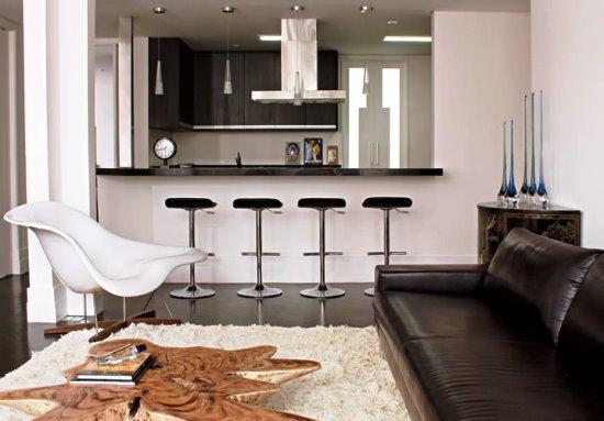 decoracao cozinha e sala juntos