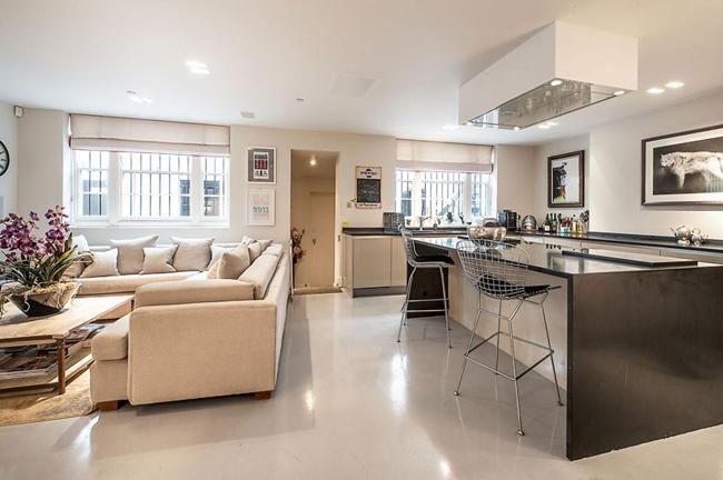 Cozinha com sala 6