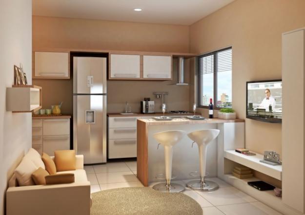 Cozinha com sala 7