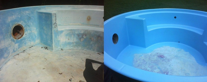 Tinta para pintar piscinas