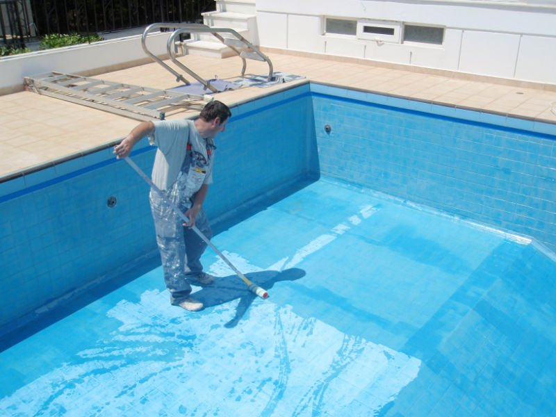 Tinta para piscina