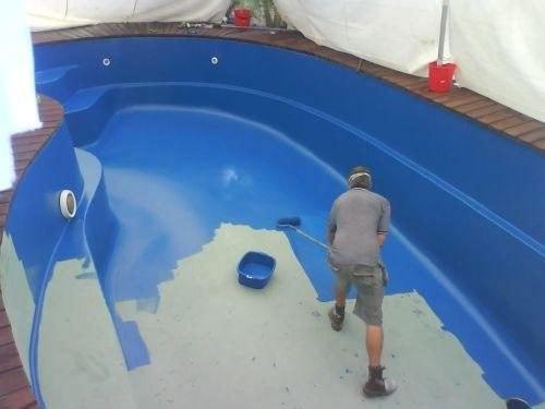 Tintas para piscinas