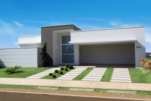 38 casas modernas para inspirar for Casa moderna baratas