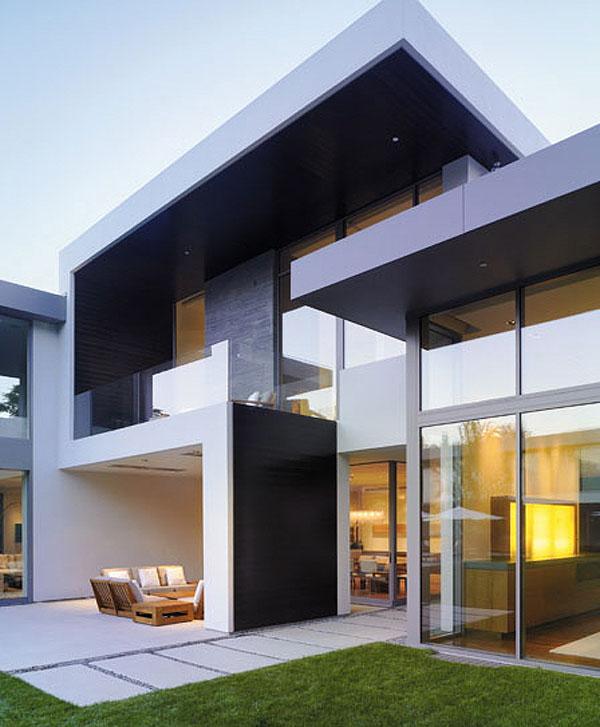 38 casas modernas para inspirar for Casas contemporaneas modernas