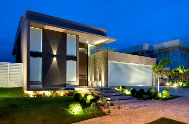 30 modelos incr veis de fachadas de casas pequenas e modernas - Casas rusticas modernas fotos ...