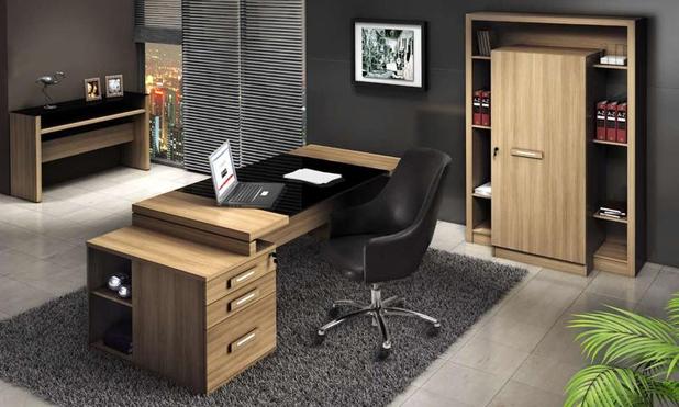 17 modelos de escritório decorado