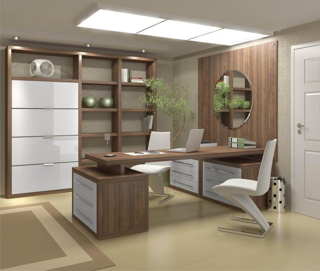 Home Design Business Ideas: 17 Modelos De Escritório Decorado