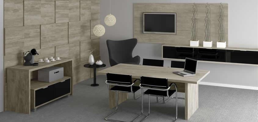 17 modelos de escritório decorado -> Decoração Simples Para Escritório Pequeno