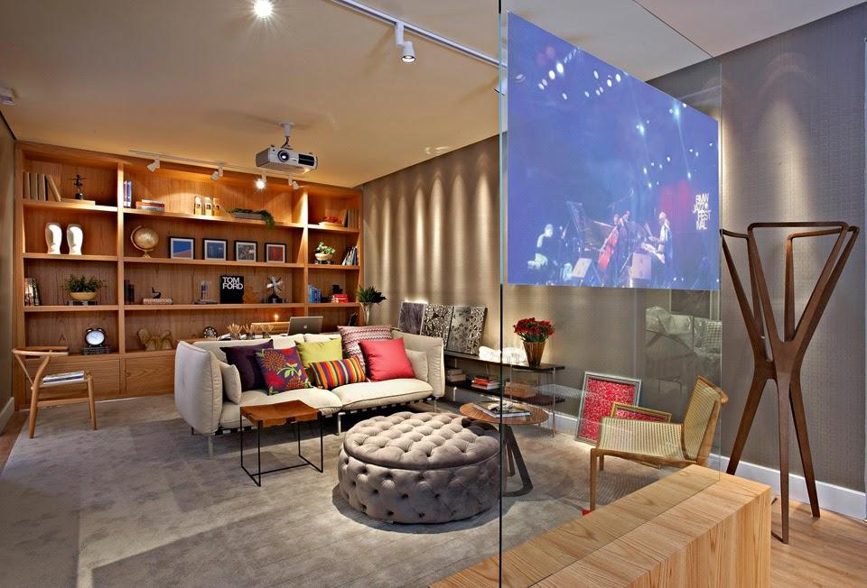 9 modelos de painel de vidro para TV